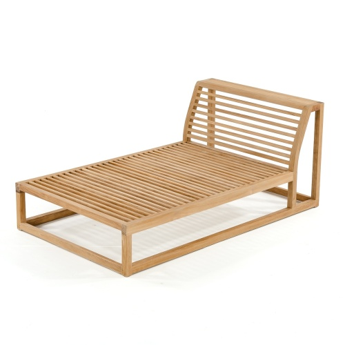 [teak daybed in traditional home